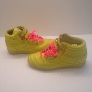 VTG 80's Reebok High Top Athletic Shoes